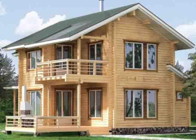 Деревянные дома дизайн сайта
