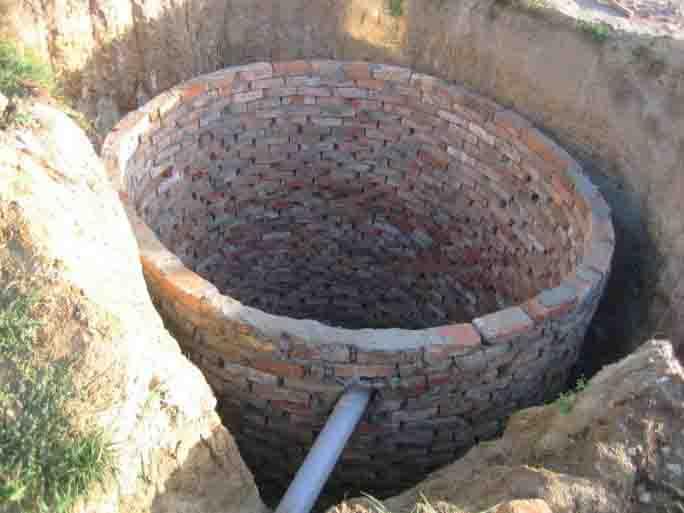 Выгребные ямы из кирпича