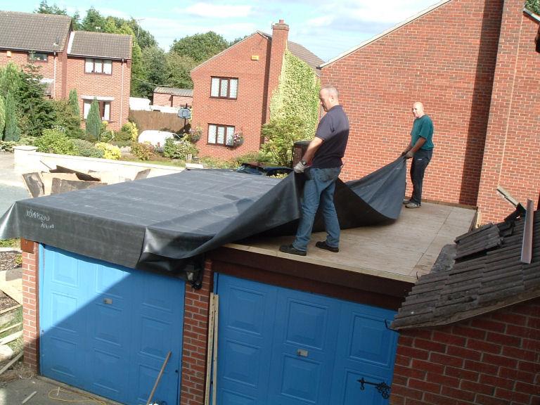 Ремонт крыша своими руками