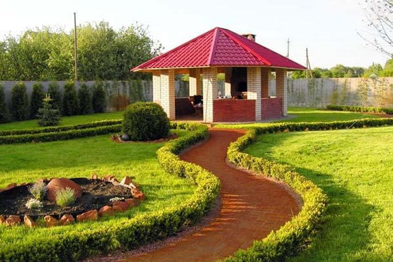 Ландшафтный дизайн загородного участка фотогалерея