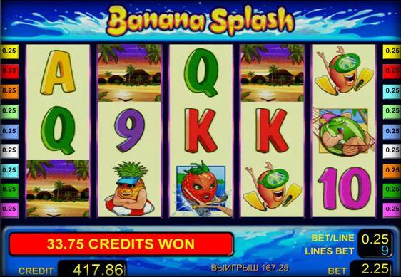 Игровой автомат Бананы на Багамах Bananas Go
