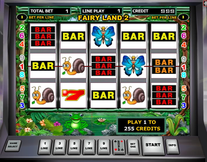 Аппараты игровые fairy land игровые аппараты играть на деньги без первого взноса
