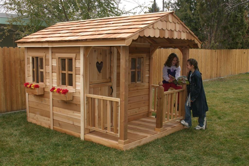 Игровой домик для детей своими руками из дерева