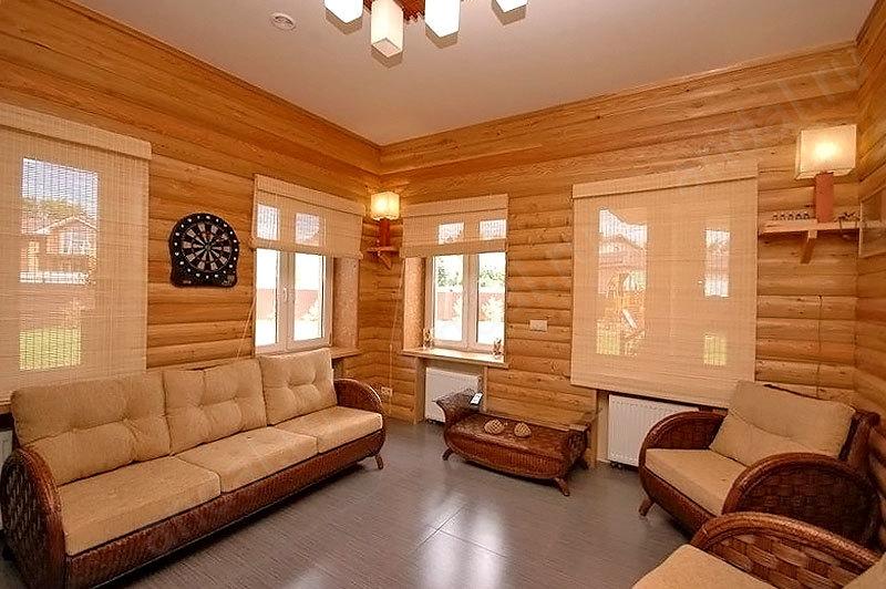 Блок хаус фото в интерьере