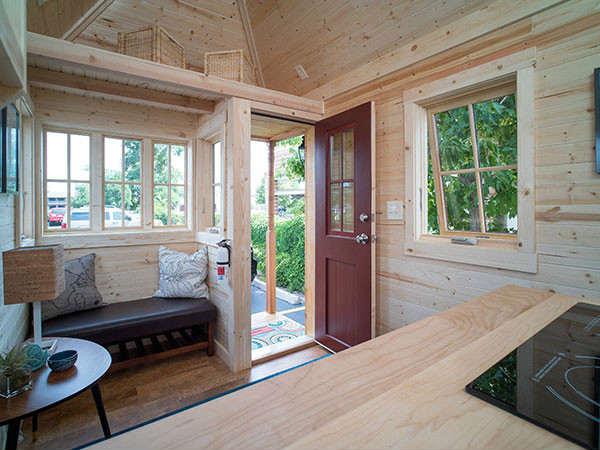 фото дачный дом внутри