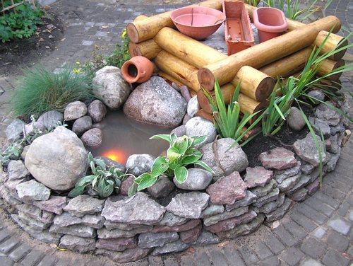 Сделать из камней для дачи фото 158