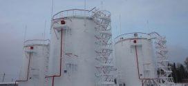 Применение вертикальных резервуаров для нефтепродуктов