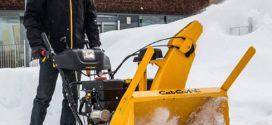 Особенности ремонта снегоуборщиков