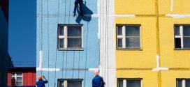 Как работают альпинисты на фасадных работах?
