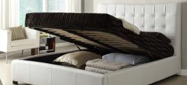 Плюсы кроватей с подъёмным механизмом