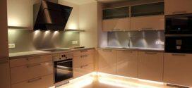 Светодиодная лента на кухне и как установить?