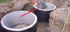Для чего используются бетонные кольца?