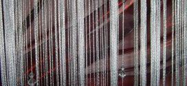 Особенности шторы нитей с бусинами
