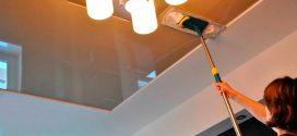 Как избавиться от запаха натяжных потолков?