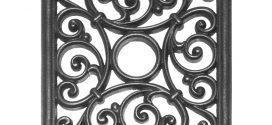 Основные характеристики плитки из чугуна