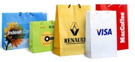 Подарочные пакеты с логотипом — хорошая реклама