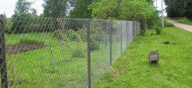 Когда следует выбрать забор из сетки-рабицы?