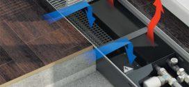 Как работает внутрипольный конвектор?